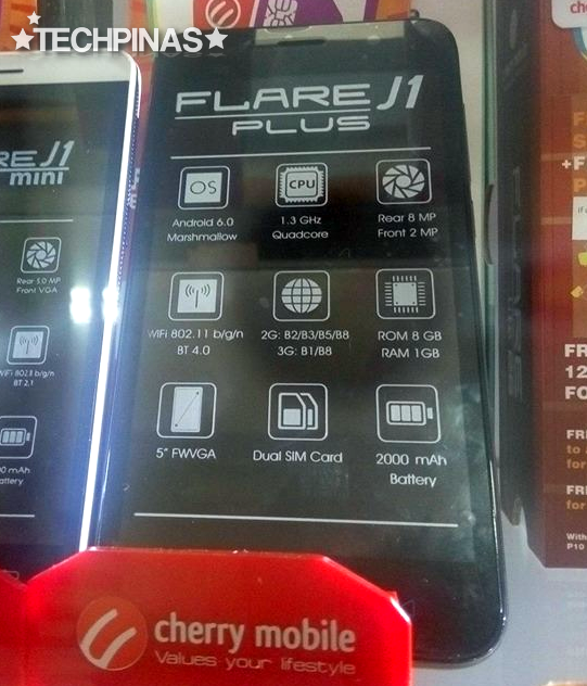 Cherry Mobile J1 Plus