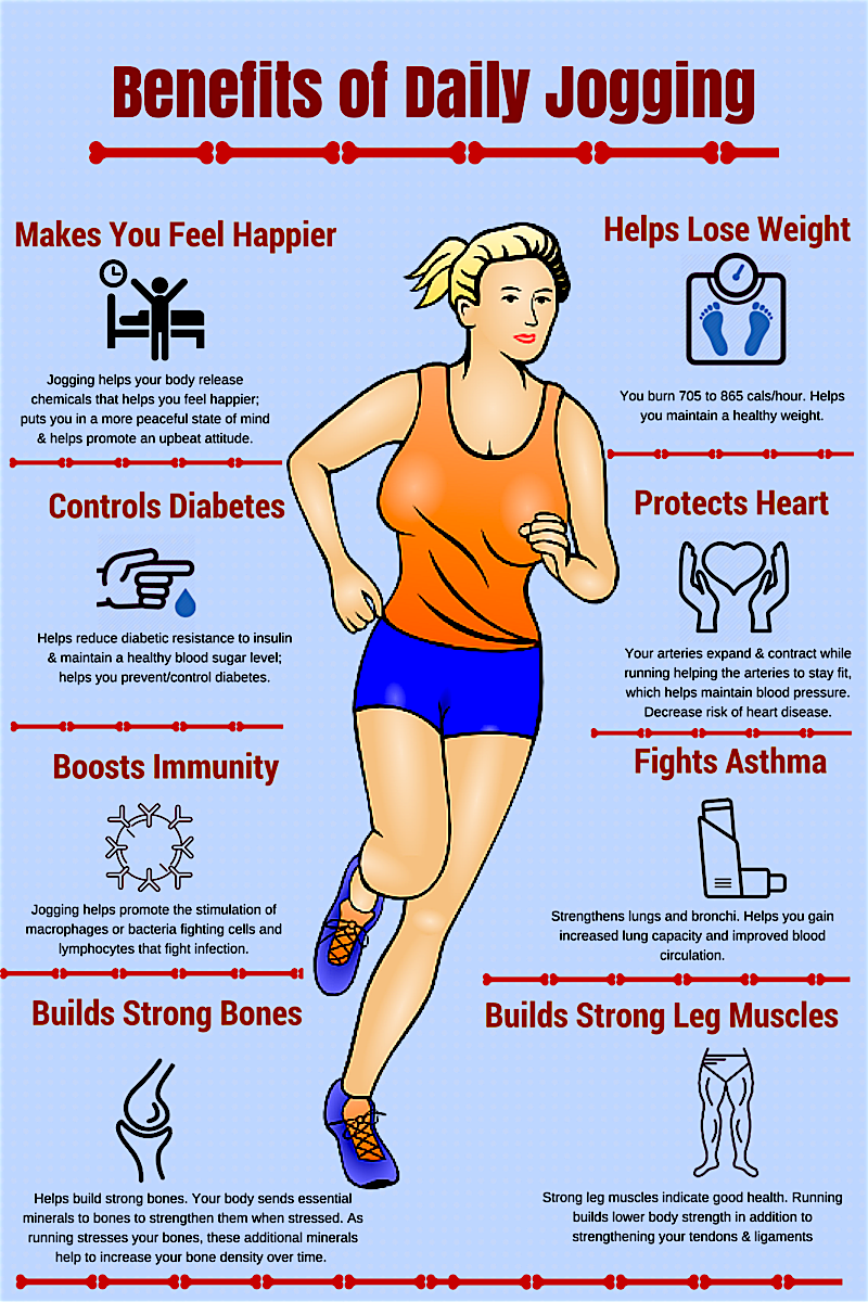 benefits of jogging in the morning