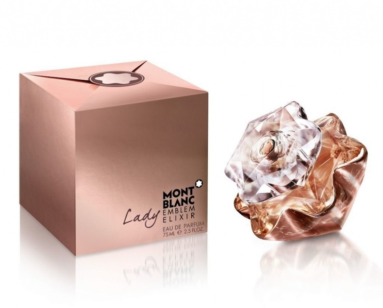 New Mont Blanc Lady Emblem Elixir Eau De Parfum Spray Full Size