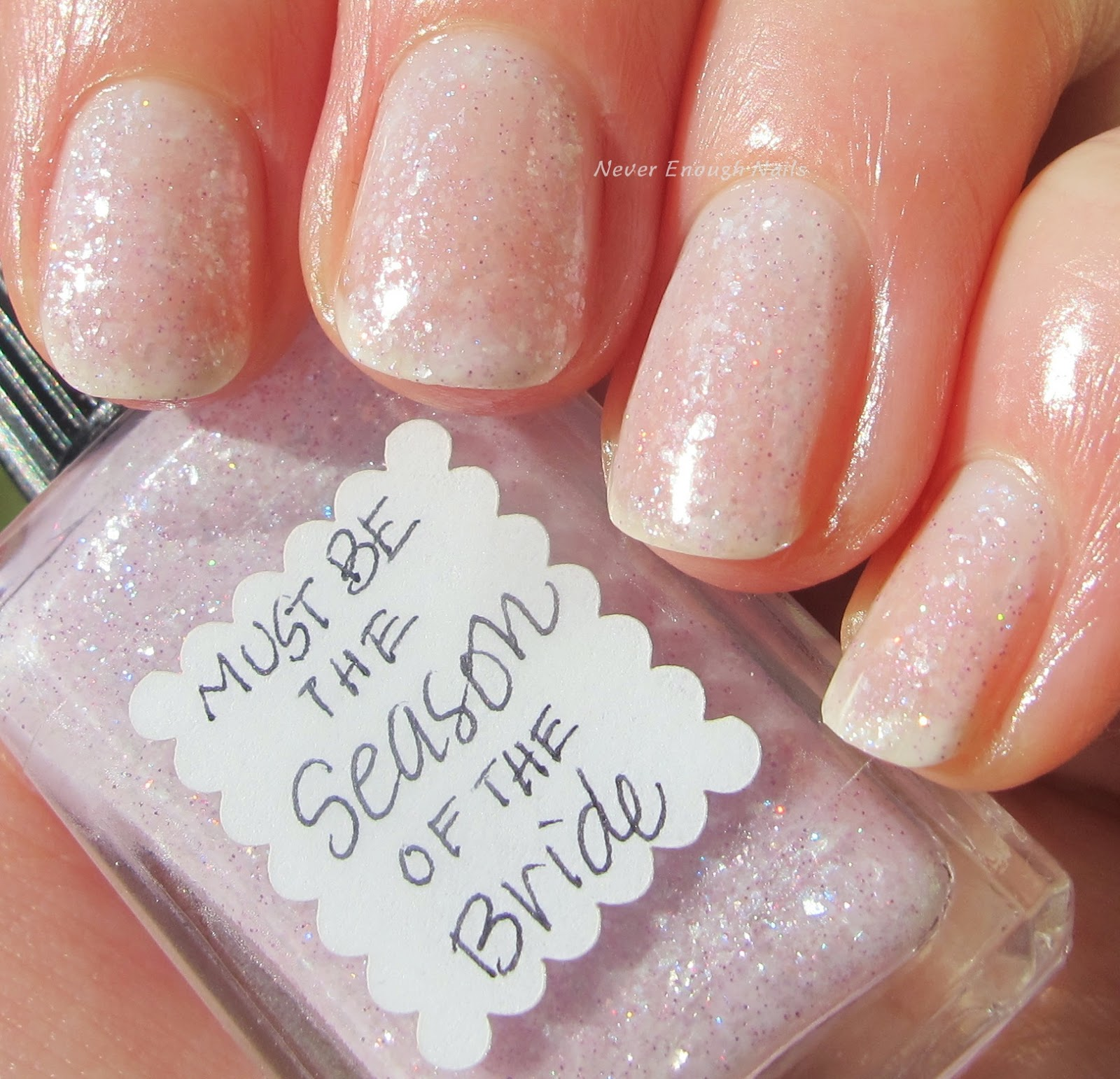 Never Enough Nails: Lynnderella Friday, Vol. 45, Bridal-Themed Lynns!