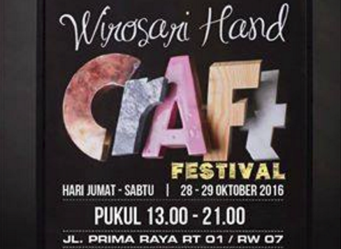 Event Batang | 28-29 Oktober 2016 | Wirosari Handcraft Festival 2016