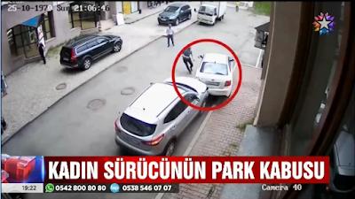 park ederken böyle hat-trick yaptı