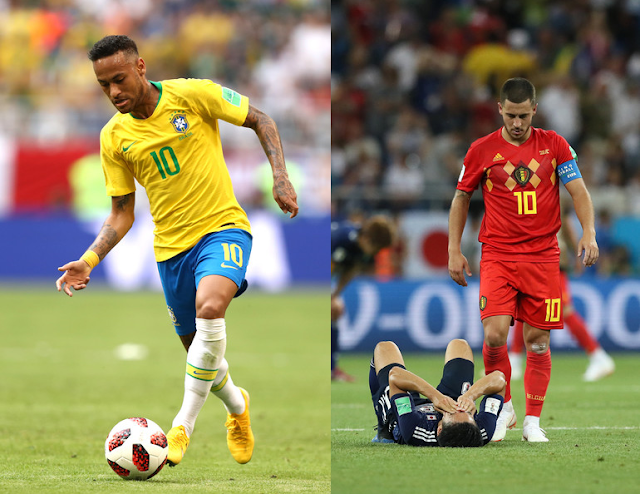 Brazil vs Belgium: Preview and Betting tips - Russia 2018 World Cup
