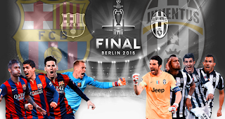 Final berlin 2015 Juventus vs Barcelona