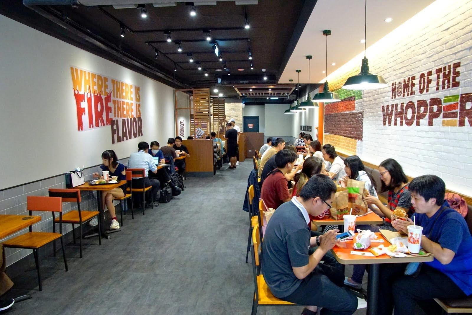 [台南][北區] 漢堡王台南店|9/1開幕|全球唯一台南限定巧克力華堡亮相|食記