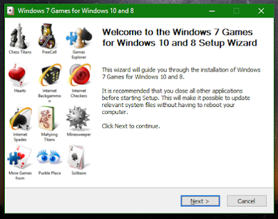 Windows 7 Games for Windows 8/8.1/10