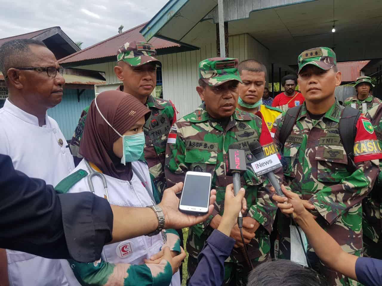 TNI Tinjau Distrik untuk Ketahui Situasi di Lapangan