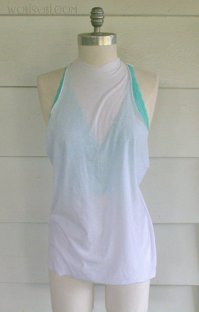 tied back top wobisobi open back tied tank top 967