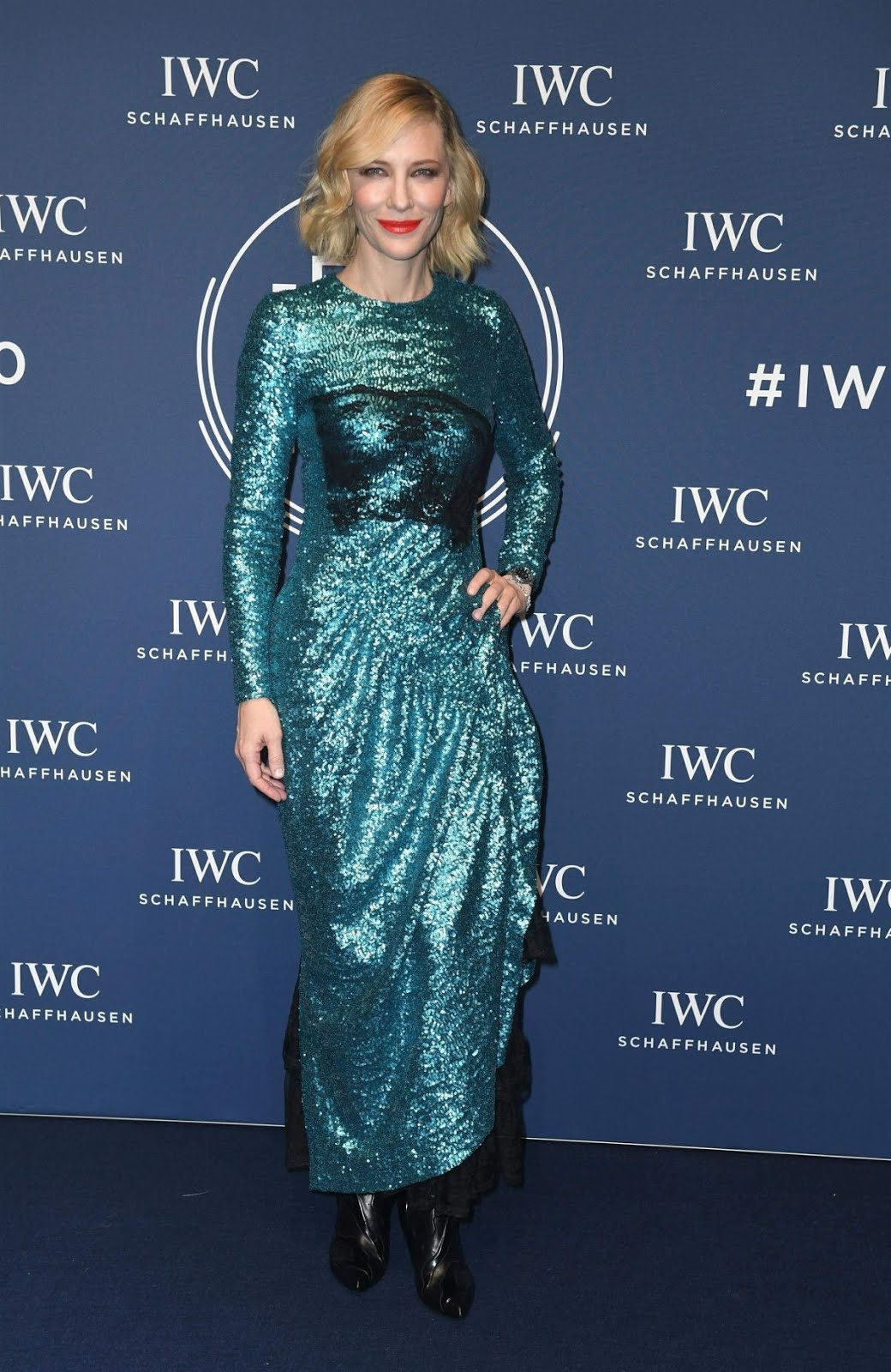 Cate Blanchett At IWC Schaffhausen Gala At Sihh 2018 in Geneva