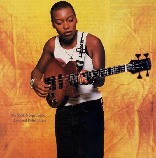 Dynamics 13 By Michelle Gibson: The Groovy Music: Me'shell Ndegeocello