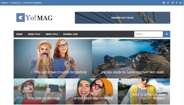 Chia sẻ Yo Mag Blogger Template