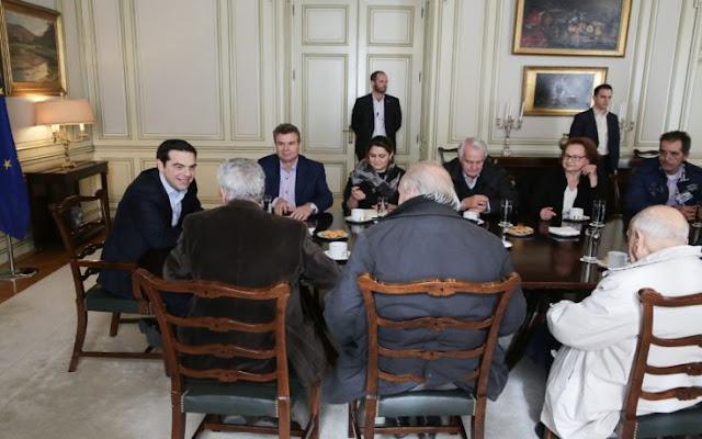 Οι συνταξιούχοι είδαν τον πρωθυπουργό