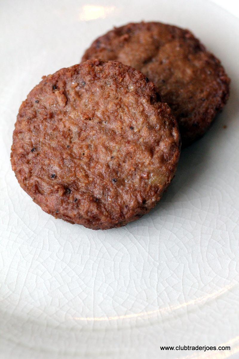 trader joe s veggie sausage patties   club trader joe s