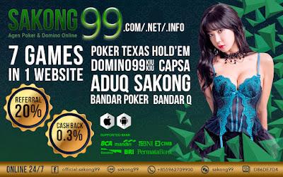 Sakong99 Agen Domino Online Dengan Rate Win Tertinggi