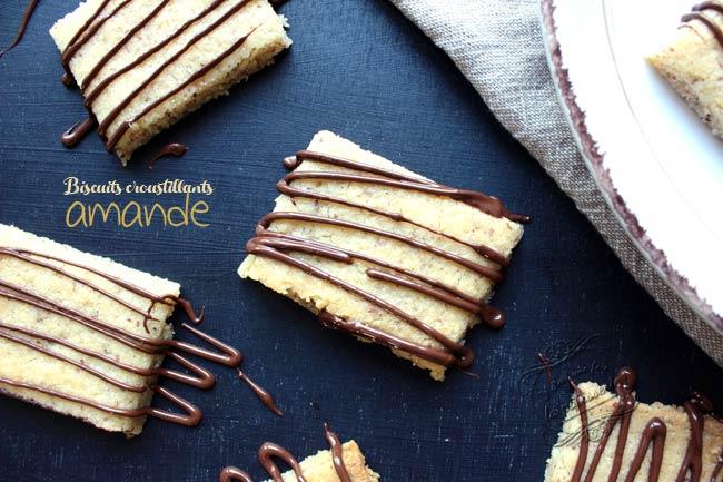 recette biscuits amande