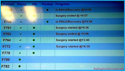 Hospital update board | www.BakingInATornadolcom