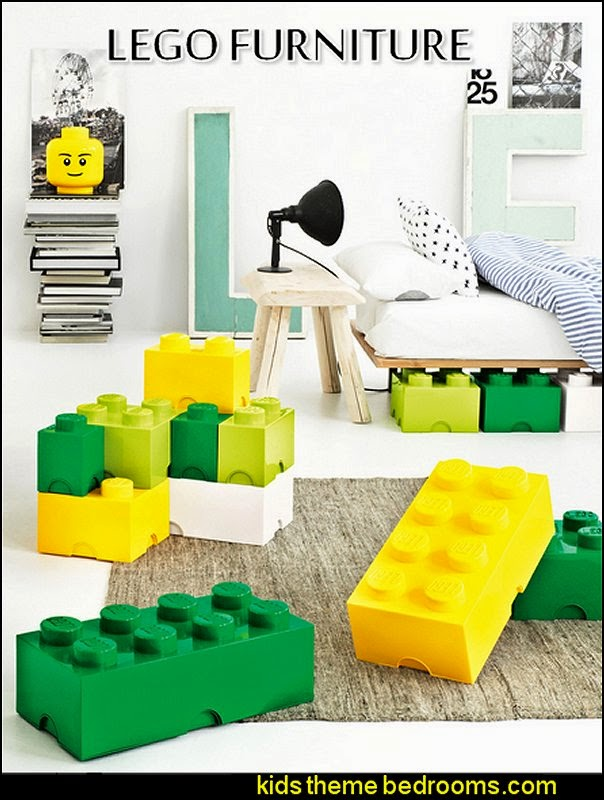 LEGO Designer Storage Brick Lego wallpaper  Lego bedroom decor  Lego bedding