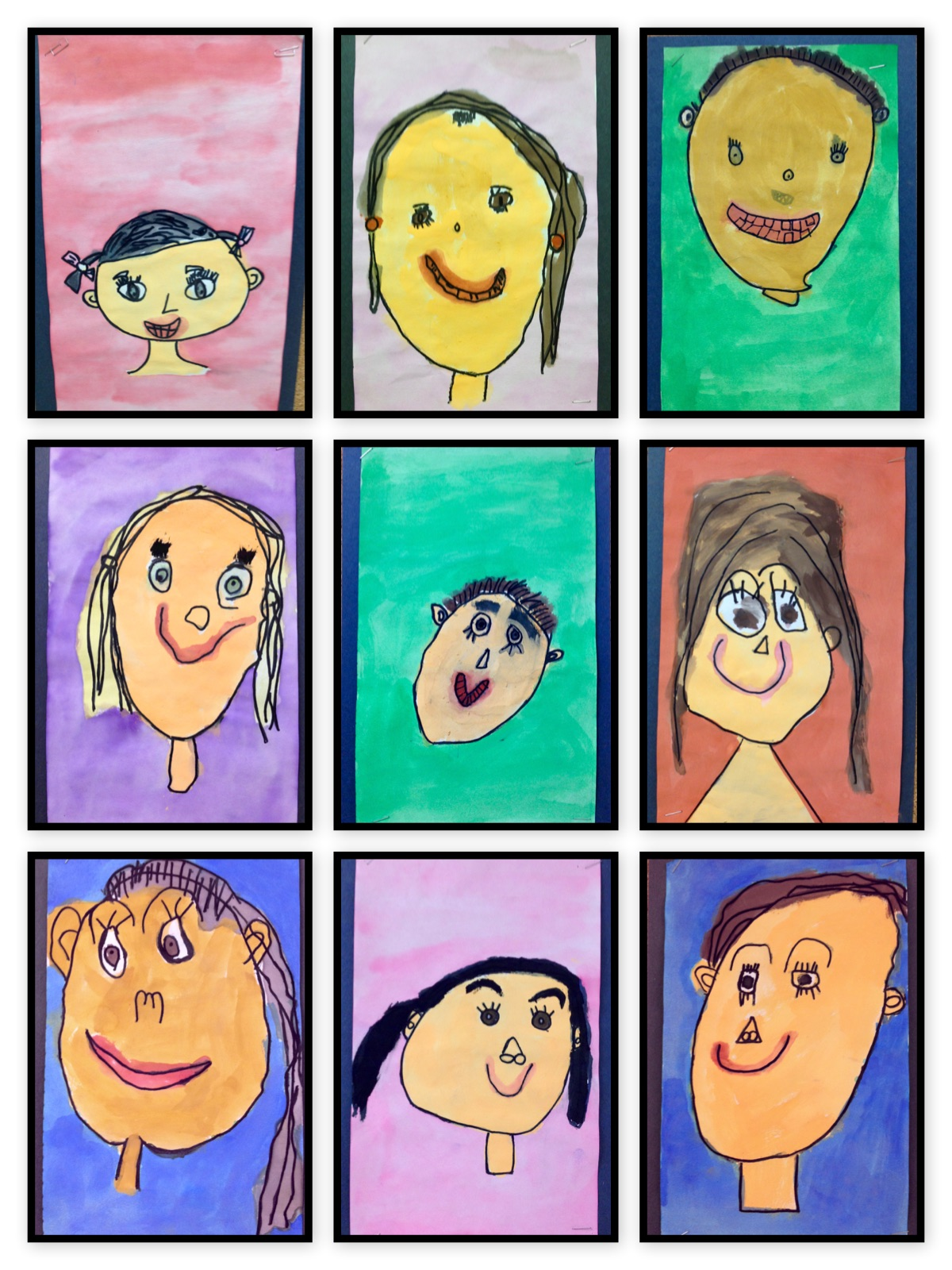 Thinking And Learning In Room 122 Exploring Self Portraits