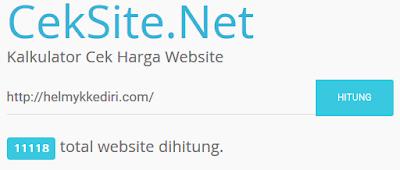 Tempat Cek Harga Website dan Blog1