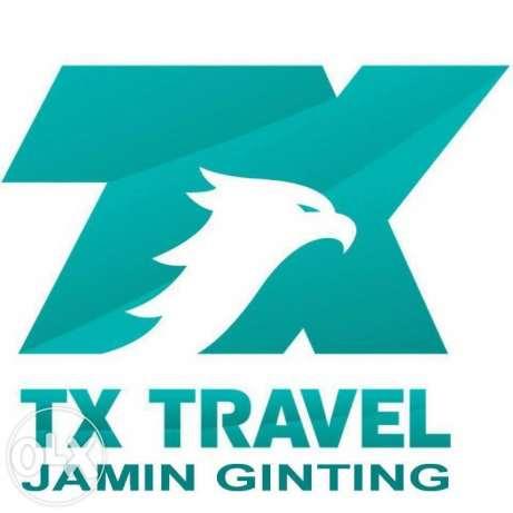 Logo PT TX Travel Medan