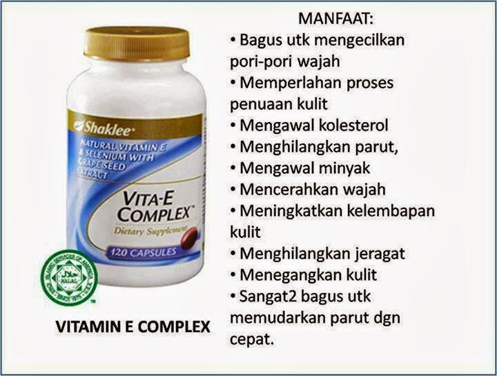 Manfaat Vitamin E Shaklee