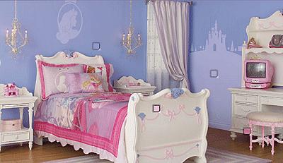 cuarto princesa disney
