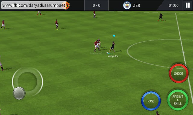 fifa mobile soccer android game match screenshot 2