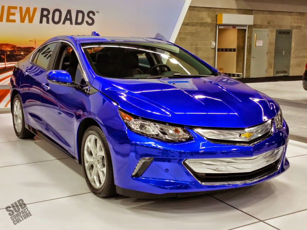 Blue 2016 Chevrolet Volt