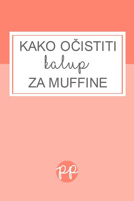 Kako očistiti kalup za muffine?