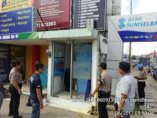 ATM BSB Dibobol, Rp800 Juta Raib