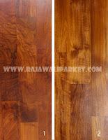 perbedaan flooring jati Grade Export dan lokal