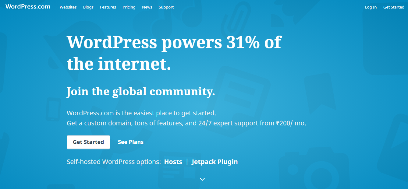 Wordpress com review : WordPress com is the easiest place to