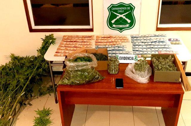 🚨Osorno: Decomisan droga y dinero en el sector de Ovejería