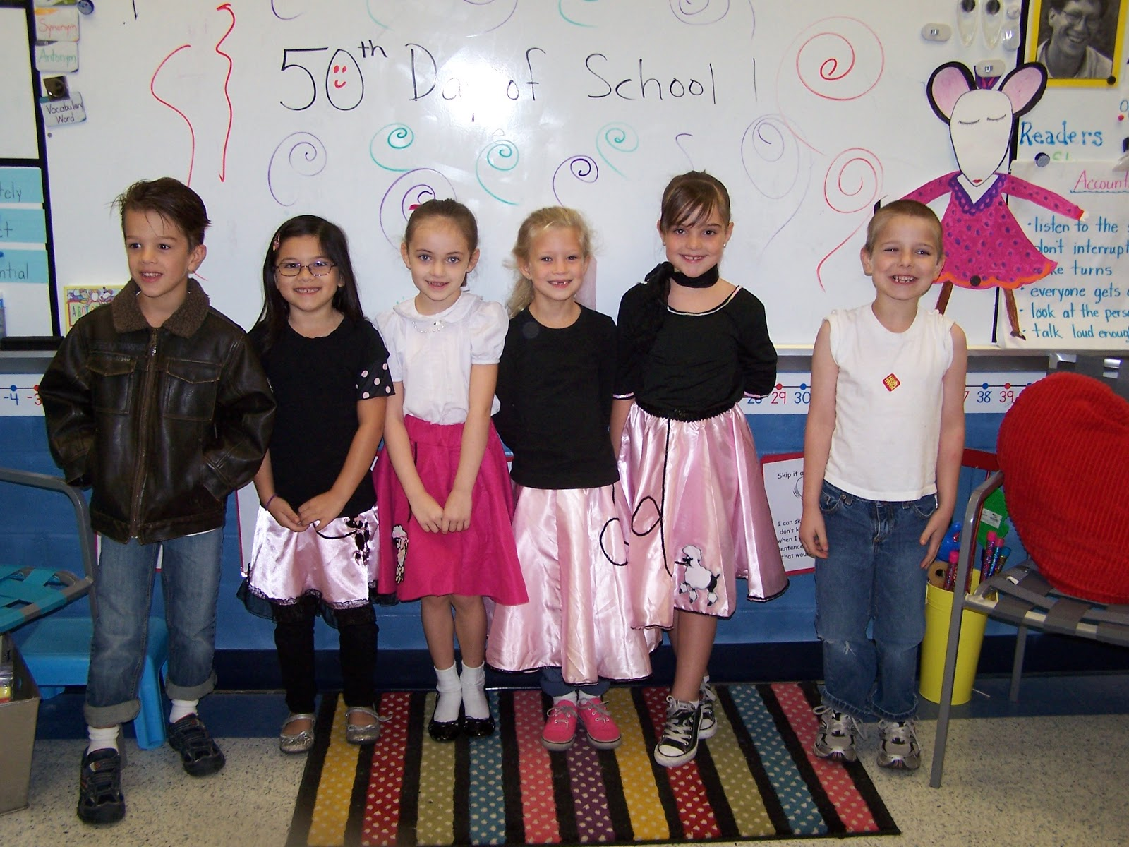50th Hairstyle: 50th Day Of School