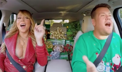 adesso è natale: il carpool karaoke natalizio di mariah carey