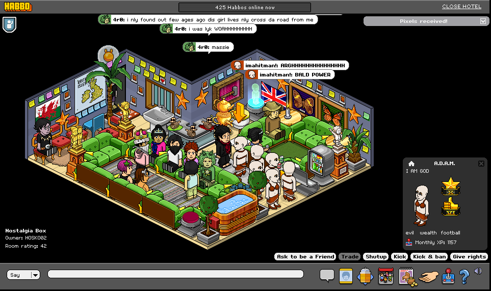 Habbo Archive Screenshots 2009