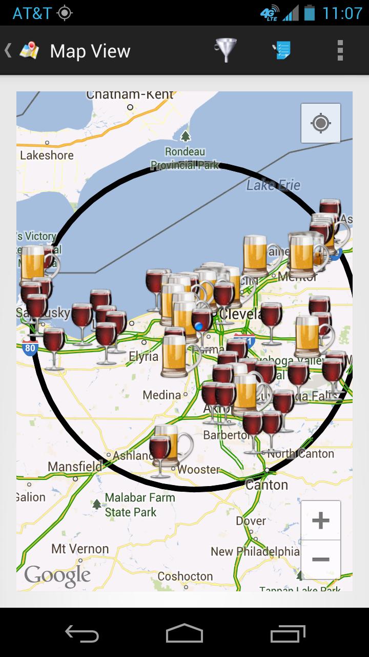 Ohio Craft Beer Map