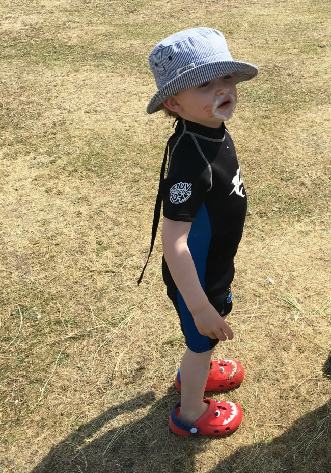 Our-weekly-journal-26th-June-2017-toddler-at-ogmore-by-sea