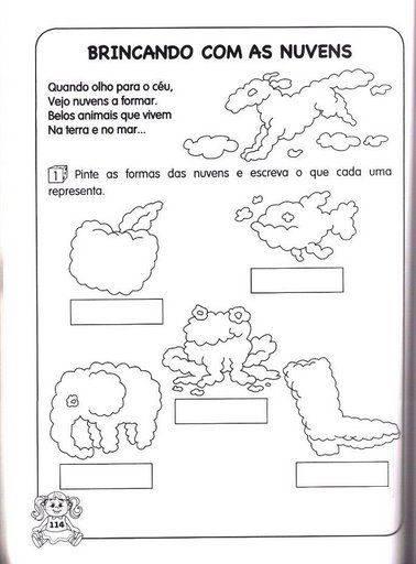 Atividades De Portugues 1º Ano Para Imprimir Ensinando Saber