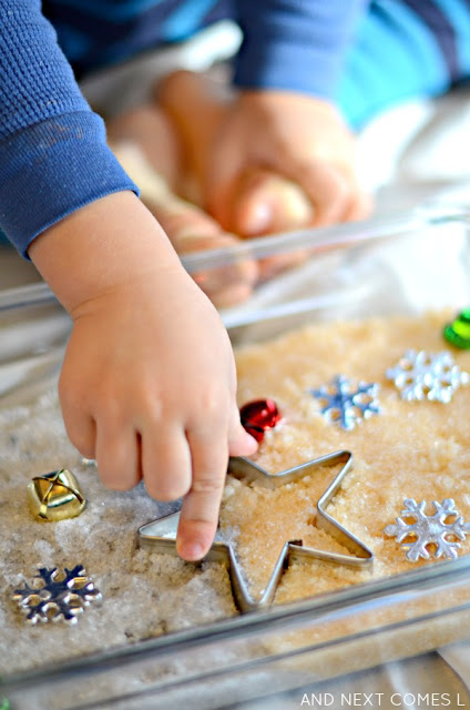 Holiday sensory bin ideas