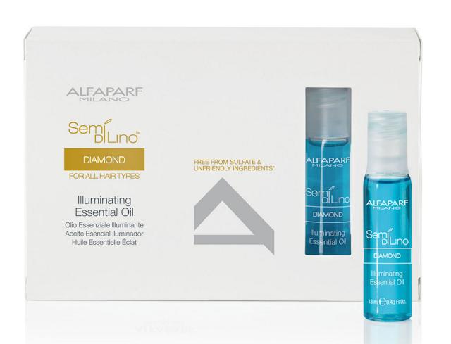 huile essentielle Semi Di Lino par ALFAPARF cheveux