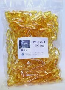 Omega 3, 37% EPA och 26% DHA