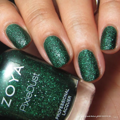 nail polish swatch of Elphie from Zoya's enchanted collection