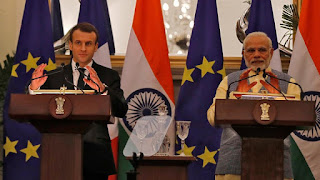 India, France ink 14 pacts; major boost to defence, nuclear energy cooperation