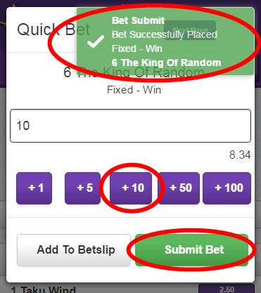 Quick Bet - Hollywoodbets Mobile