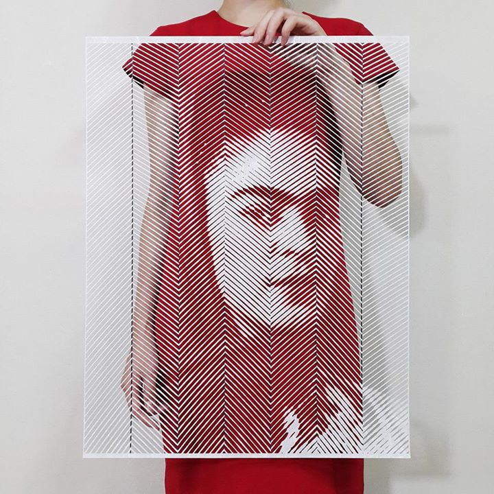 10-Frida-Kahlo-Yoo-Hyun-Paper-Cut-Celebrity-Photo-Realistic-Portraits-www-designstack-co