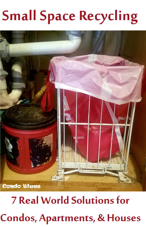 7 real life small house recycling bin solutions