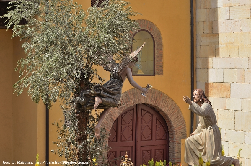La Oracion del Huerto. Cofradía del Dulce Nombre de Jesús Nazareno. Leon. Foto G. Márquez. 2015