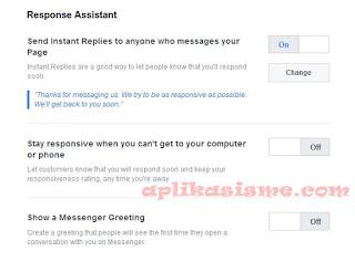 Cara balas pesan facebook secara otomatis