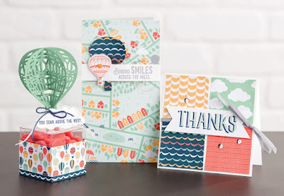 Stampin' Up! 2017 Sale-a-bration Samples: Carried Away Designer Paper